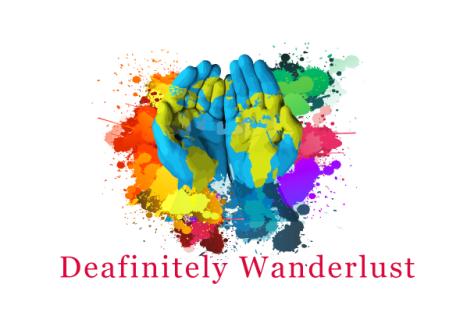 Deafinitely Wanderlust blog's logo