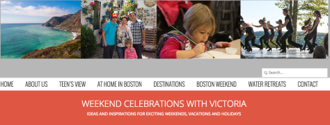 Weekend Celebrations with Victoria blog logo