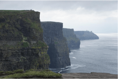 Cliffs of Mohr photo by Amber