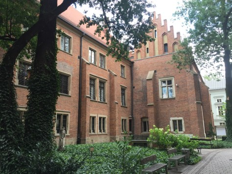 Professors' Garden at Collegium Maius, now the museum of Jagiellonian University