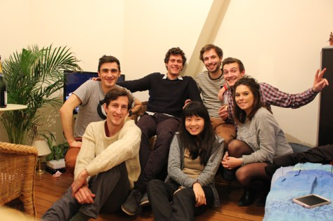 "The friends of the ""stranger"" with whom Isabel celebrated New Year's Eve"