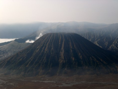 Indonesia's volcano area