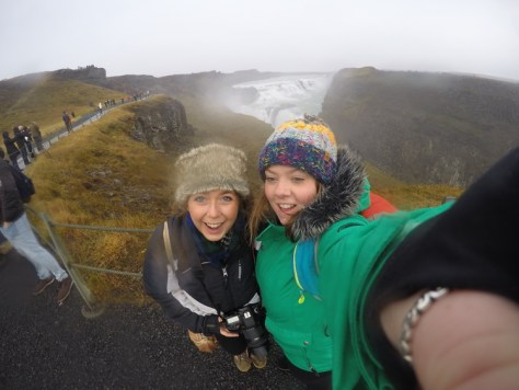 MillieGoes at Gullfoss Falls Iceland