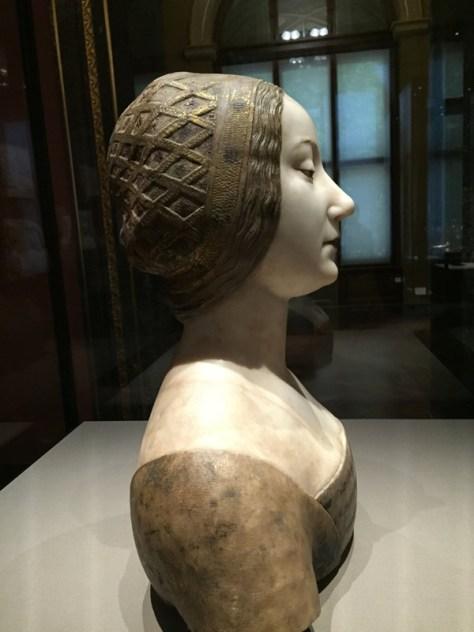 Ippolita Maria Sforza or Isabella of Aragon, by Francesco Laurana