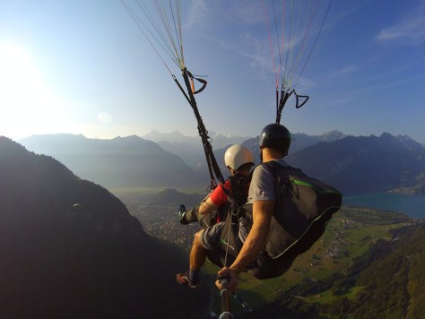 Roaming Renegades paragliding
