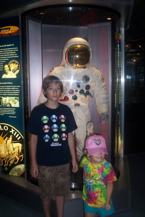 at the Kennedy Space Center in Florida in 2011