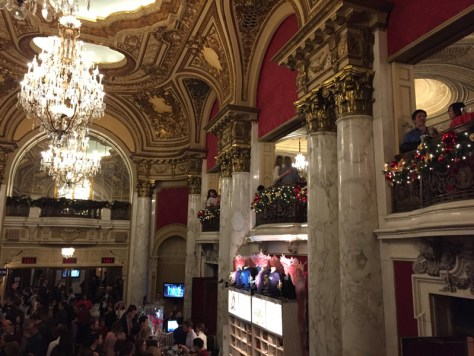 Lobby area at the Boston Opera House