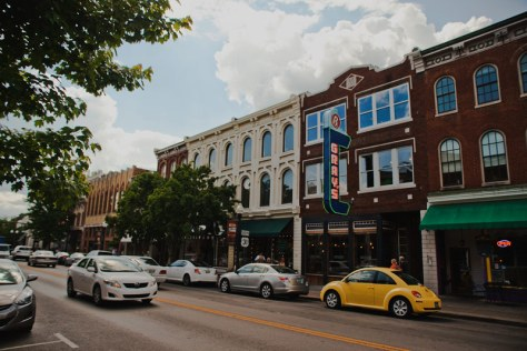 Downtown Franklin Tennessee, by VisitFranklin.com