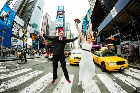 Just Married! The Roaming Renegades in New York City