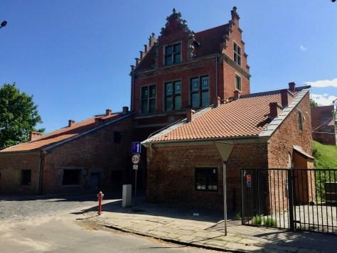 Brama Nizinna (Lower Gate) built in 1626, Gdańsk, Poland