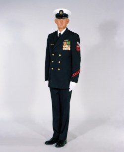 Small Of Navy Dress Blues
