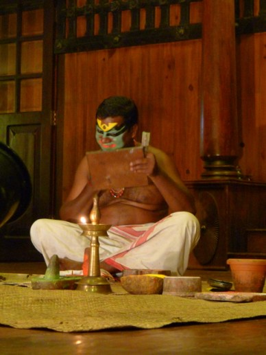 P1060281 Espetáculo de Kathakali