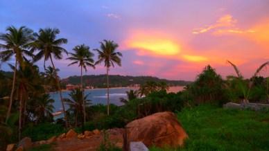pordosol O pôr do sol cingalês