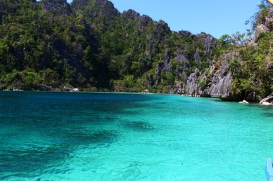 blue lagoon Coron