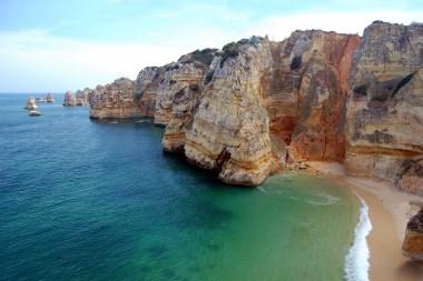 Algarve Beach surfing