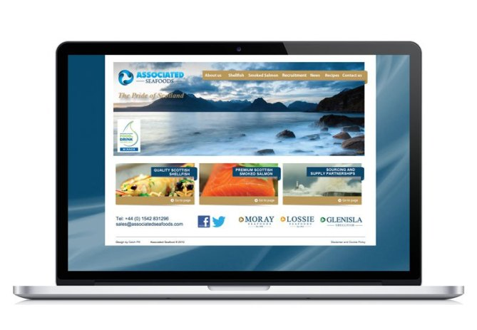 Associated Seafoods website
