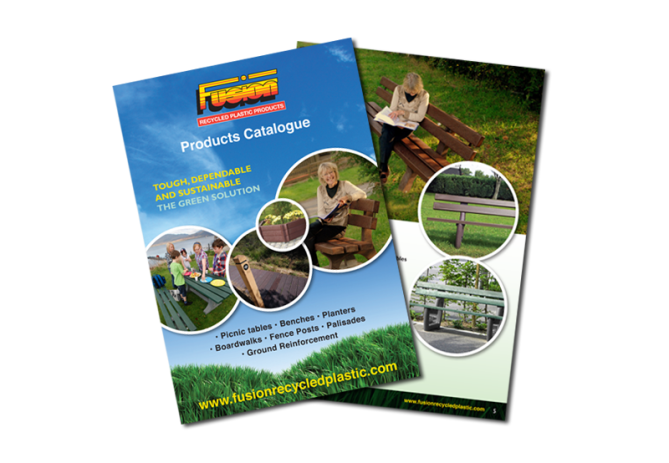 Fusion Recycled leaflet
