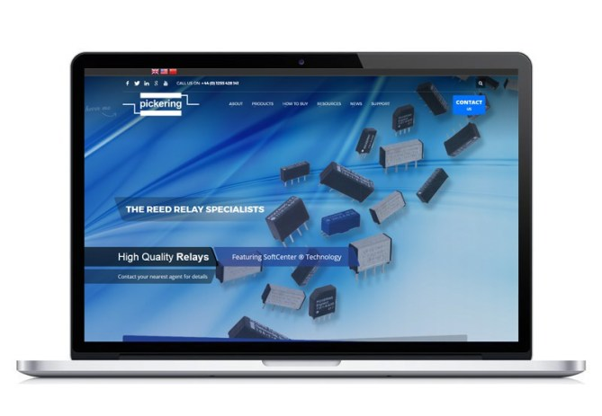 Pickering Electronics website