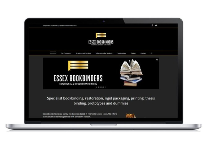 Essex Bookbinders website