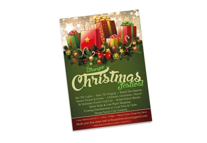 Thorpe Christmas Festival leaflet 2015