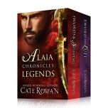 Book cover for Alaia Chronicles: Legends, Volumes 1 & 2