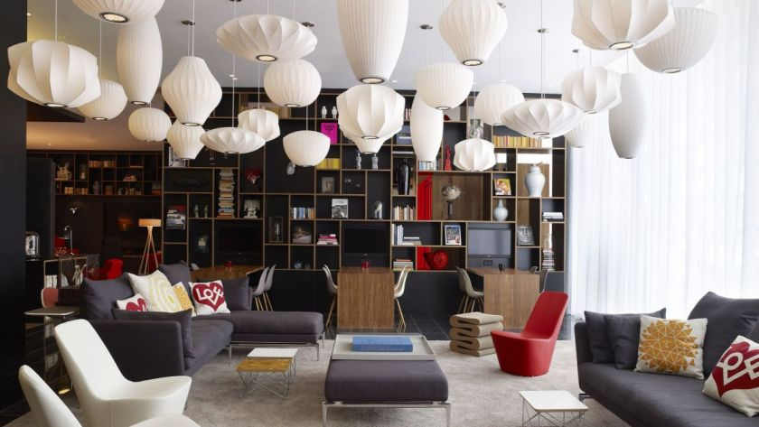 citizenM London lobby