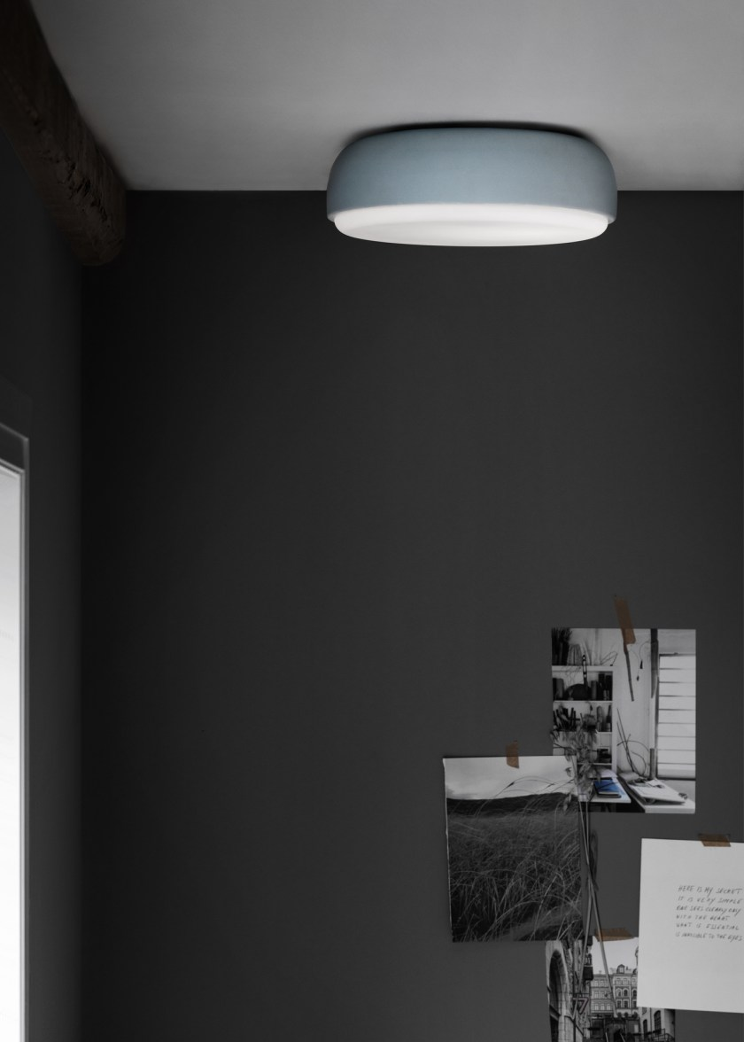 Northern Lighting new product launches 2017 - minimal interiors - dark walls - scandinavian design