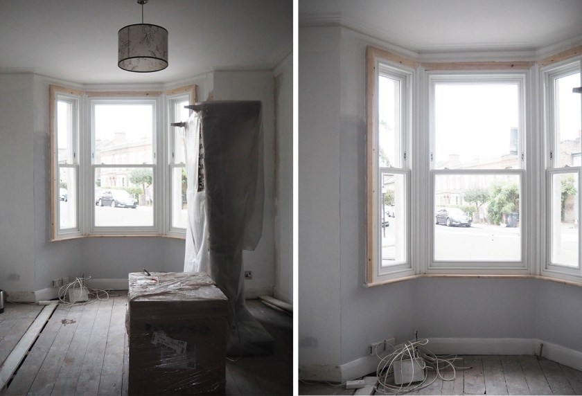 living room makeover - house refurb