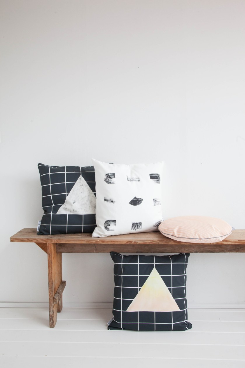Cushion collection Line and Gleam