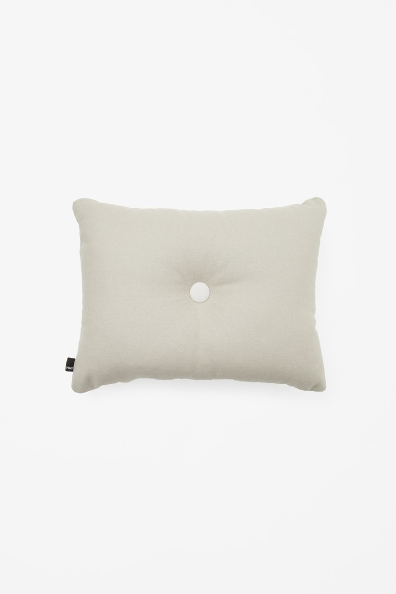Dot cushion grey £69
