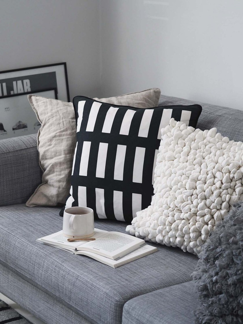 Sustainable cushions and home accessories from Happy + Co