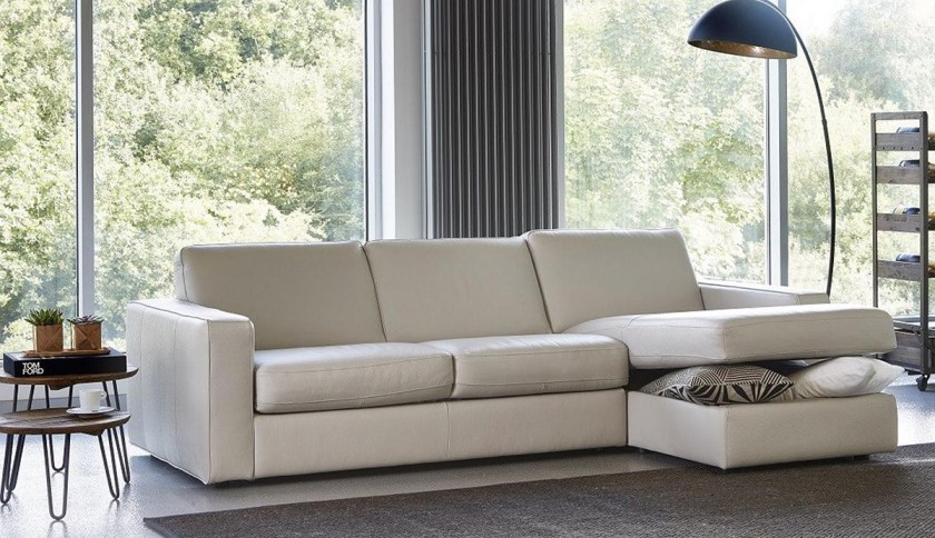 Tips for choosing a sofa to suit your home - Marco 4 Seater Sofabed with Storage Chaise