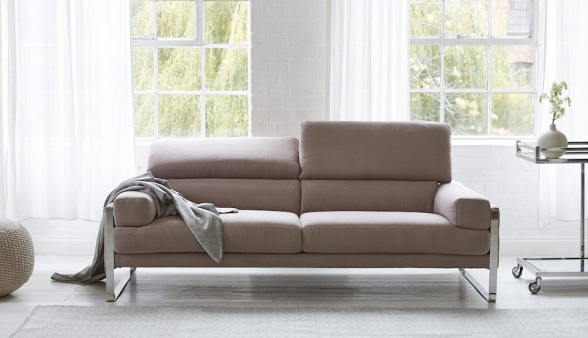 Tips for choosing a sofa to suit your home - Rocco in Turtledove by Darlings of Chelsea