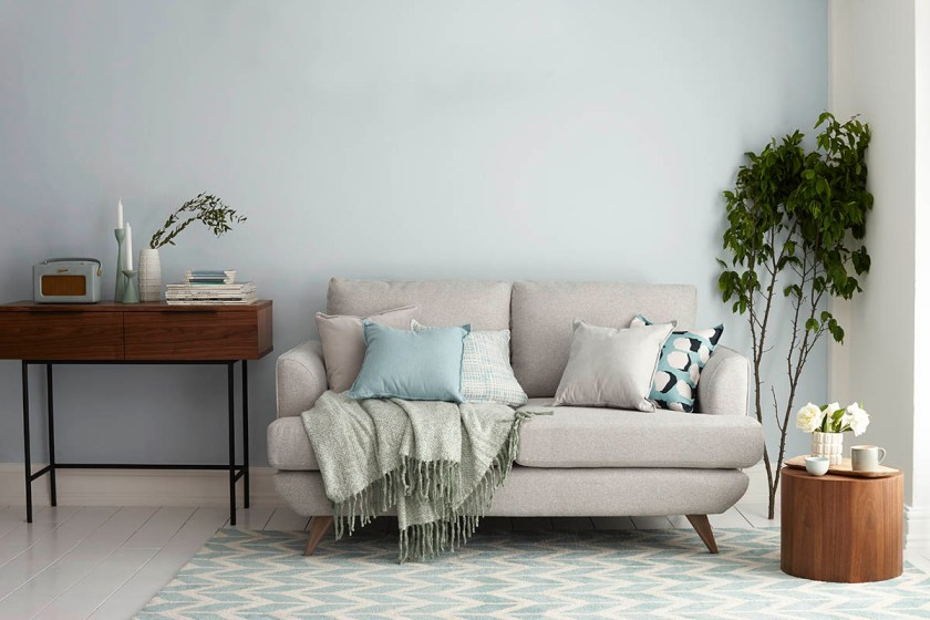 DFS Capsule Collection for small space living - compact sofa