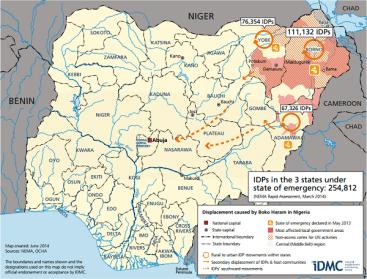Boko Haram area