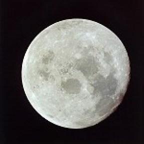 Moon seen from Apollo