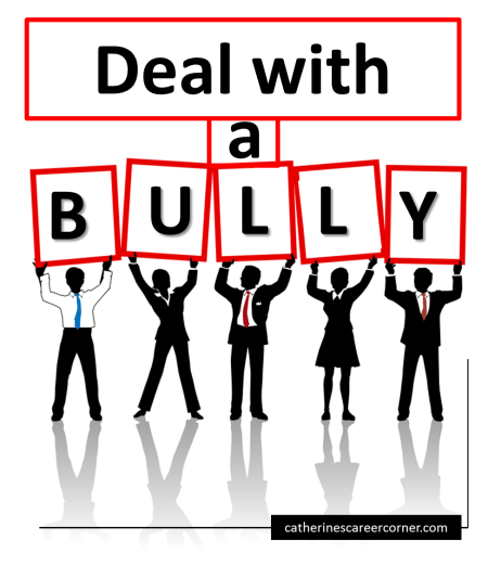 Deal with a bully at work