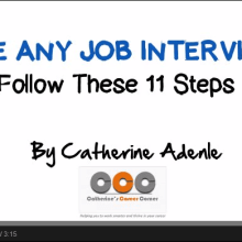 Video 11 Ways to Ace Any Job Interview