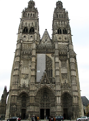 [Cathedral of Saint Gatien, Tours, France]
