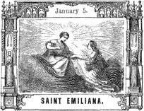 [Pictorial Half Hours with the Saints: Saint Emiliana]