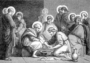 [Pictorial Lives of the Saints: Maundy Thursday]