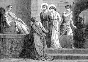 [Saint Cyprian and Saint Justina, Martyrs]