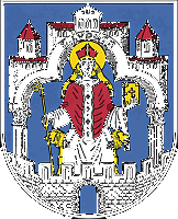 coat of arm for Helmstedt, Germany