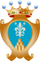 coat of arms for Montemignaio, Italy