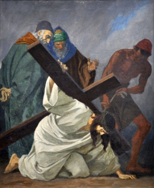 Third Station - Jesus Falls the First Time