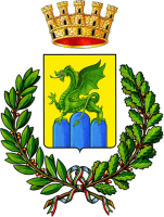 coat of arms for Mondragone, Italy