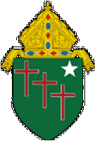 coat of arms of the Diocese of Gallup, New Mexico
