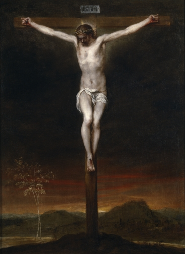 Christ on the Cross, by Alonzo Cano, 17th century