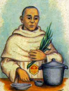 detail of an Italian holy card of Blessed Antonio González Penín by Bertoni, date unknown; swiped from Santi e Beati