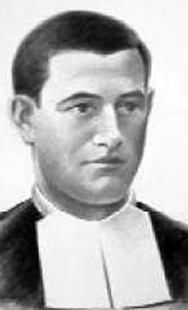 illustration of Blessed Isidro Muñoz Antolín, date and artist unknown; swiped from Santi e Beati